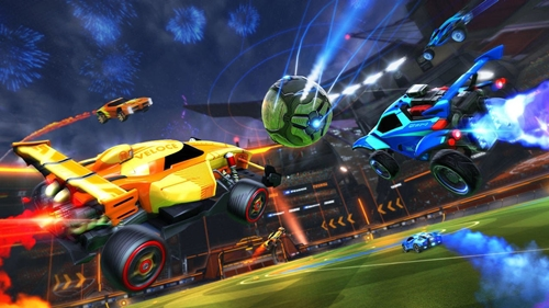 rocket league action shot copy